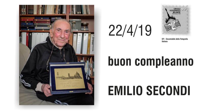 22 APRILE 2019 – EMILIO SECONDI