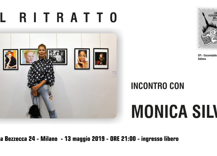 13 MAGGIO 2019 – ORE 21:00 – IL RITRATTO D'AUTORE SECONDO MONICA SILVA