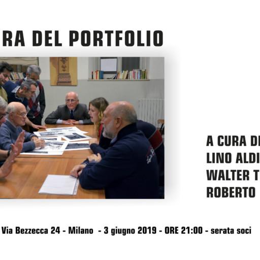 3 GIUGNO 2019 – ORE 21:00 – LETTURA DEL PORTFOLIO
