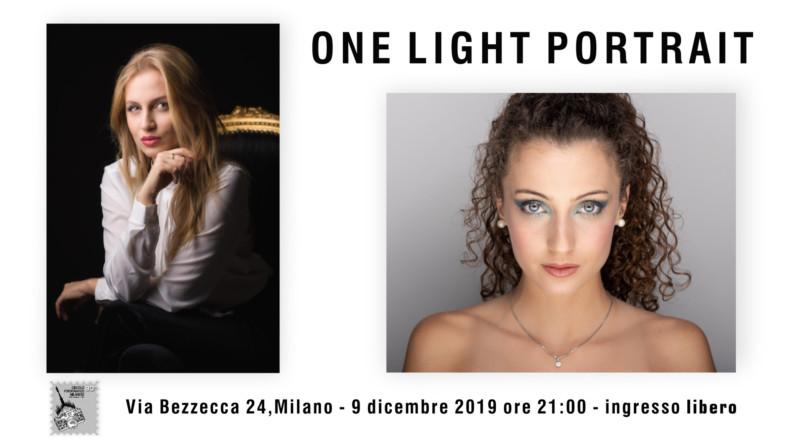 9/12/2019 – ore 21:00 -ONE LIGHT PORTRAIT