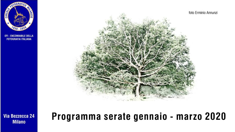 Programma gennaio – marzo 2020