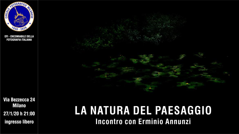 27/01/20 – ore 21:00 – LA NATURA DEL PAESAGGIO