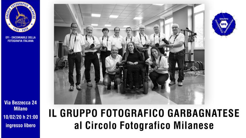 10/02/2020 – ORE 21:00 – IL GRUPPO FOTOGRAFICO GARBAGNATESE