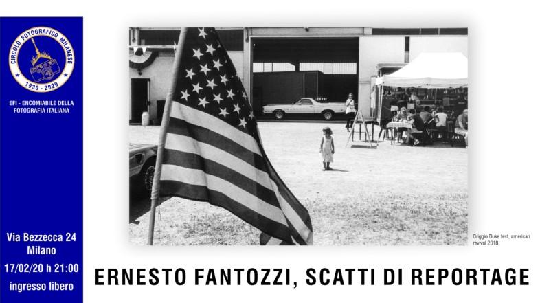 17/02/2020 – ORE 21:00 – ERNESTO FANTOZZI, SCATTI DI REPORTAGE