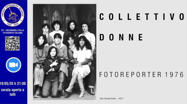 19/05/2020 – ORE 21:00 – COLLETTIVO DONNE