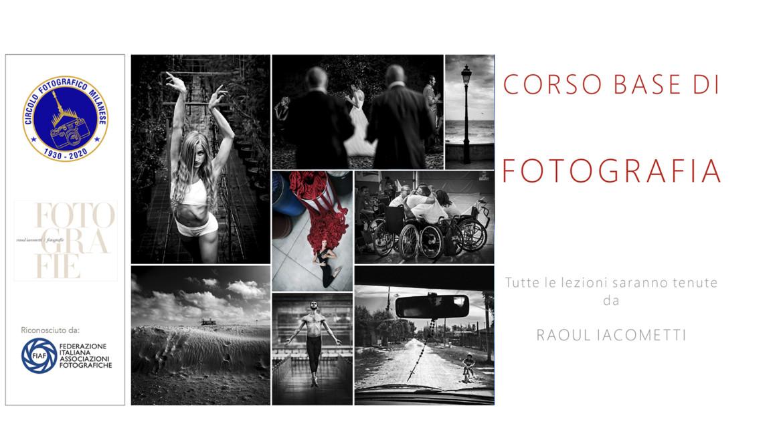 CORSO BASE DI FOTOGRAFIA