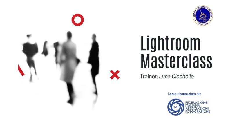 LIGHTROOM MASTERCLASS
